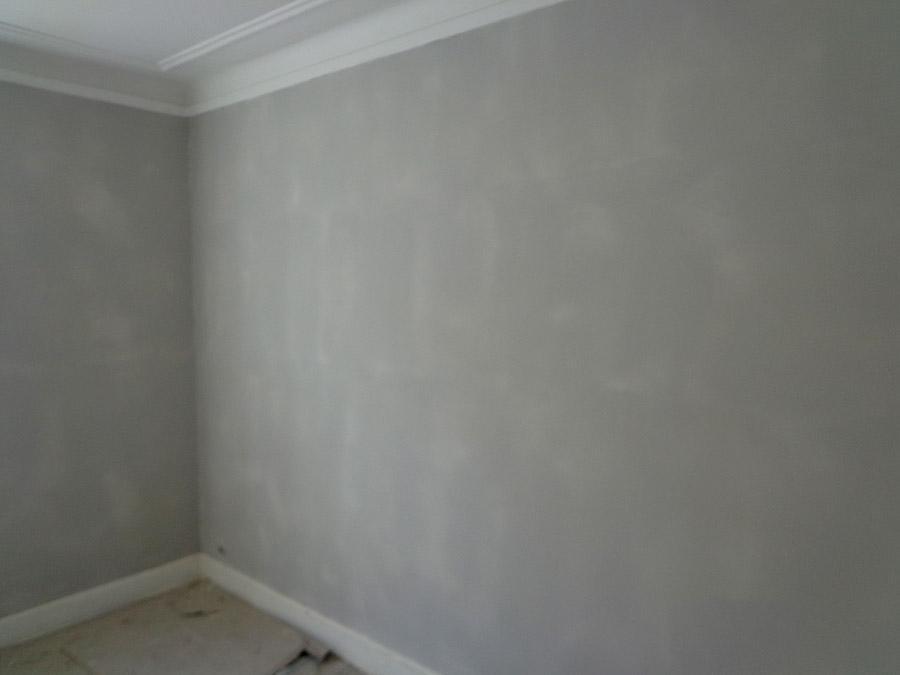 fuldspartling af vægge